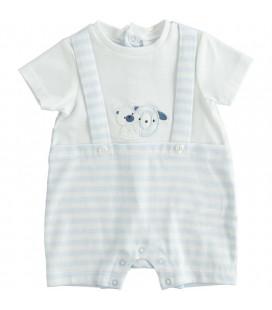 iDo by Miniconf - Pelele celeste osito para bebé