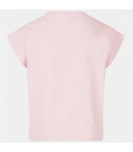 Guess - Camiseta rosa para niña