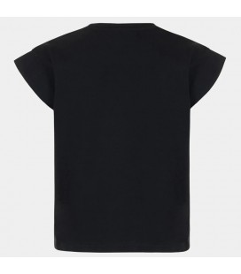 Guess - Camiseta negra para niña