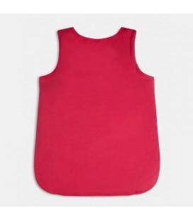 Guess - Camiseta tirantes rosa para niña