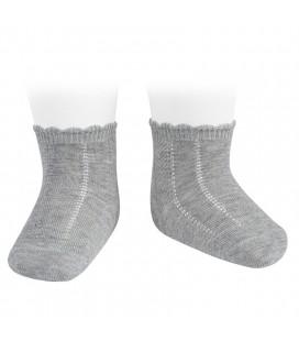 Cóndor - Calcetines cortos labrados - Aluminio