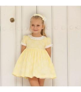 DBB Collection - Vestido amarillo para niña