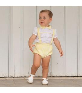 DBB Collection - Conjunto amarillo para bebé