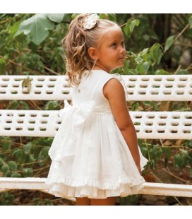 DBB Collection - Vestido beige para niña