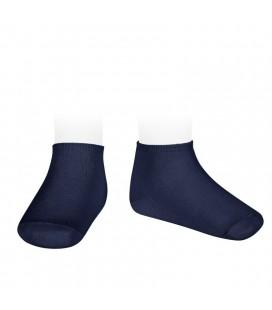 Cóndor - Calcetines invisibles algodón elástico - Marino