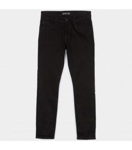 Tiffosi - Pantalones vaqueros negros Jaden_171 para niño