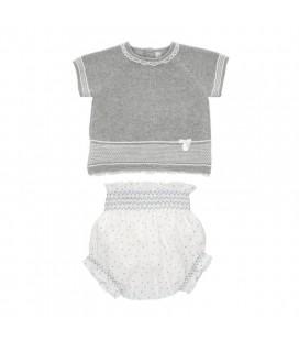 Martín Aranda - Conjunto Grey para bebé