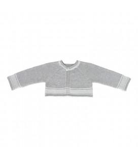 Martín Aranda - Chaqueta de punto Grey para bebé
