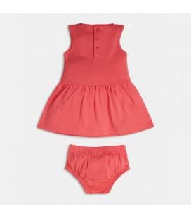 Guess - Vestido rosa para niña