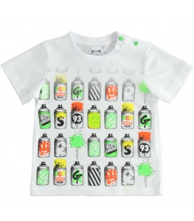 iDo by Miniconf - Camiseta blanca para niño
