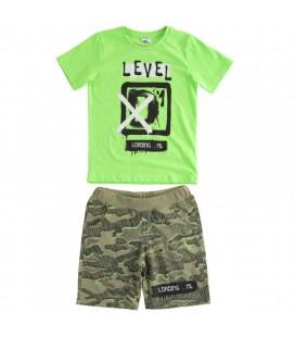 iDo by Miniconf - Conjunto camiseta y bermuda para niño