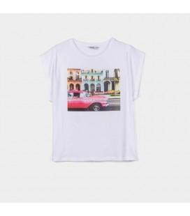 Tiffosi - Camiseta Butterfly para niña