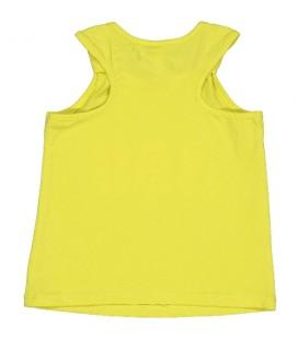 Birba - Camiseta amarilla tirantes para bebé