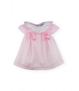 SARDON - Vestido plumeti Rebeca para bebé