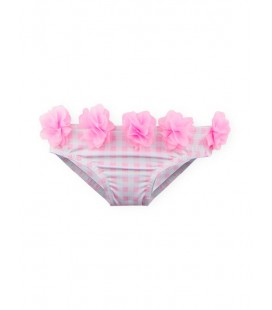 SARDON - Culetín Flores rosa para bebé