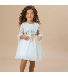 Maalula - Vestido crudo para niña