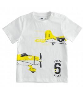 Miniconf - Camiseta blanca para niño