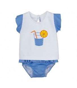 Calamaro Baby - Conjunto baño Sorbete para bebé