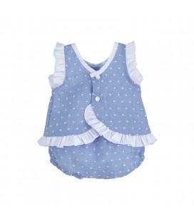Calamaro Baby - Conjunto Baratti azul para bebé