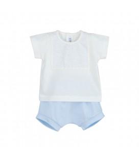 Calamaro Baby - Conjunto pololo Ancol para bebé