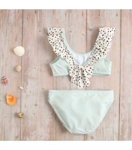 Dadati - Bikini Dálmata verde para niña