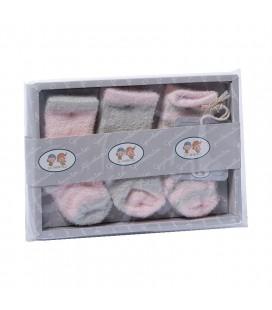 Gamberritos - Juego calcetines para bebé (3 pares)