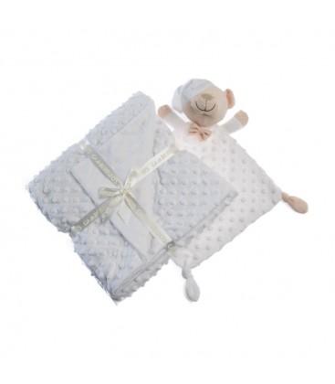 Gamberritos - Manta + doudou para bebé