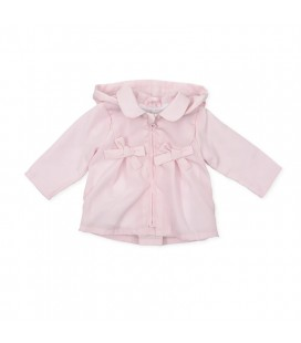 Tutto Piccolo - Parka rosa para bebé