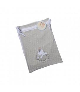 Gamberritos - Bolsa multiusos Unicornio gris