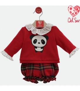 Del Sur - Conjunto ranita bebé Ónix