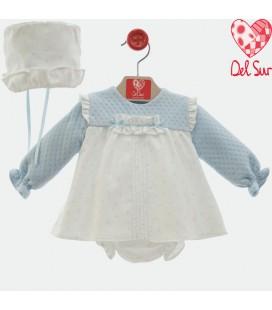 Del Sur - Jesusito Diamante con capota para bebé