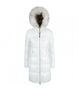 YES ZEE - Abrigo blanco para niña