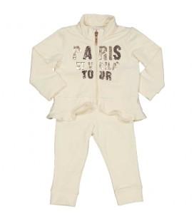 Birba - Conjunto everyday Paris beige para bebé