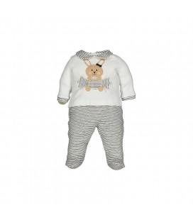 Birba - Conjunto beige Coniglietta para bebé