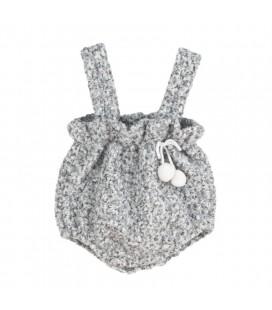 Calamaro Baby - Peto Baggy gris para bebé