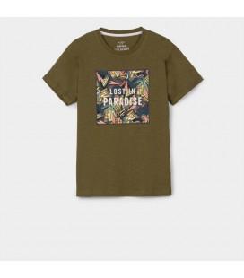 Tiffosi - Camiseta Josefo verde para niño