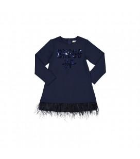 Trybeyond - Vestido azul marino para niña