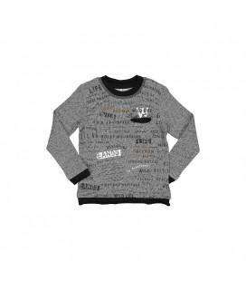 Trybeyond - Camiseta gris para niño