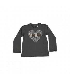 Birba - Camiseta gris Paris para bebé