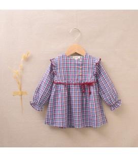 Dadati - Vestido cuadros colección Ruby para bebé