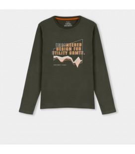 Tiffosi - Camiseta Bob verde para niño