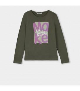 Tiffosi - Camiseta Lilac verde para niña