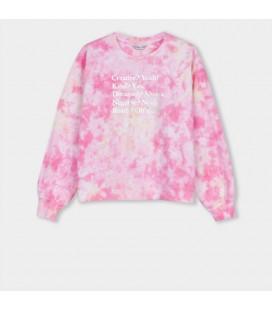 Tiffosi - Sudadera Aries rosa para niña
