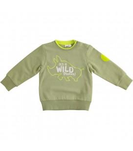 iDo by Miniconf - Sudadera verde para niño