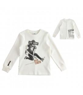 iDo by Miniconf - Camiseta biege para niño