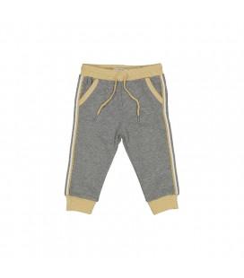 Birba - Pantalones algodón gris para bebé