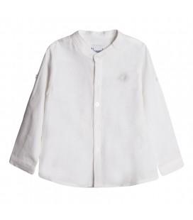 Newness - Camisa cuello mao crudo para niño