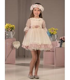 Vestido de ceremonia para niña de Marla