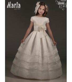Vestido primera comunión de Marla H093