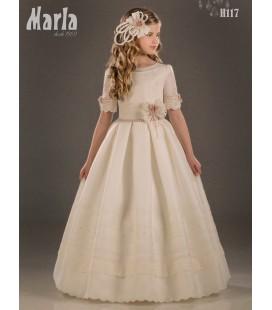 Vestido primera comunión de Marla H117